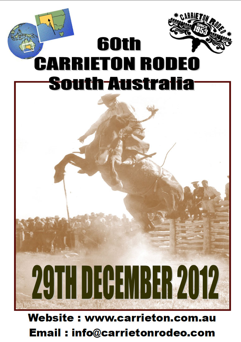 60th Carrieton Rodeo Poster Carrieton